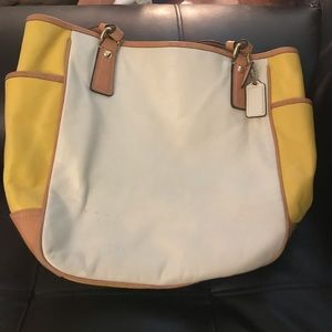 Cute coach summer bag